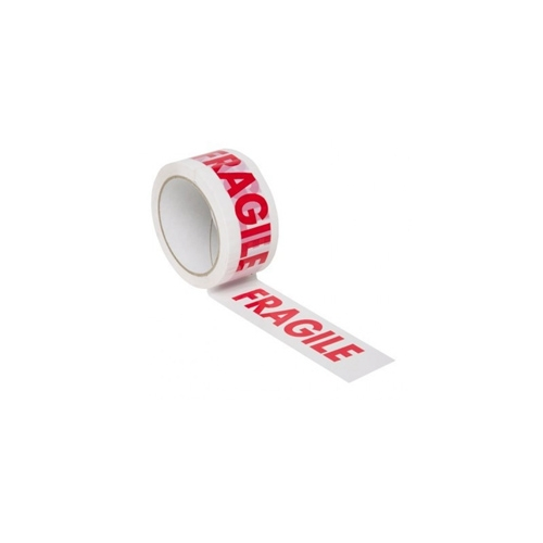 'Fragile' adhesive tape low-noise