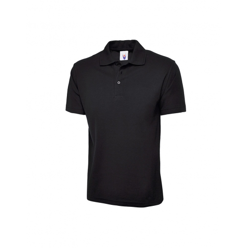 Uneek UC101 Classic Polo shirt - Black