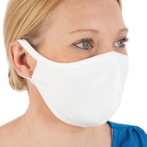 Cotton Face Mask Anti-Bacterial Treated Washable
