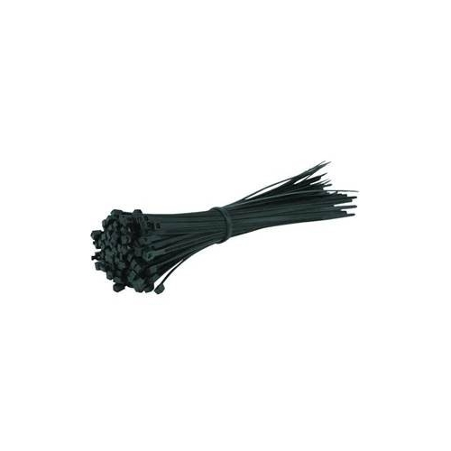 Cable Ties Black - 300mm x 3.6mm (100 per pack)