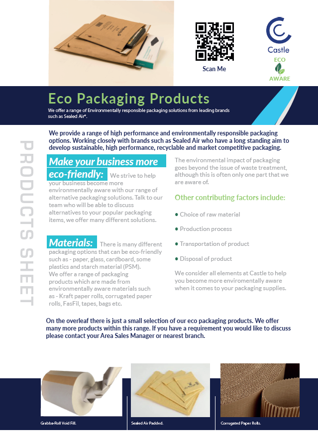 Eco Packaging Overview Leaflet - Download Now