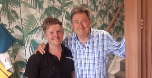 """Love Your Garden"" TV Show With Alan Titchmarsh"