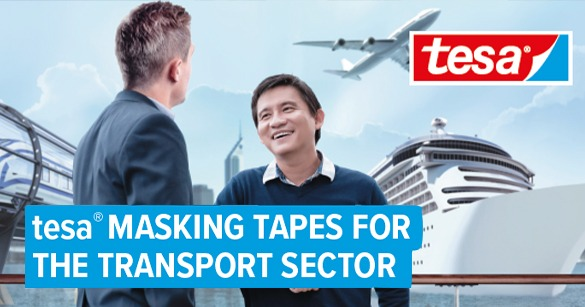 tesa® Masking Tapes For The Transport Industry